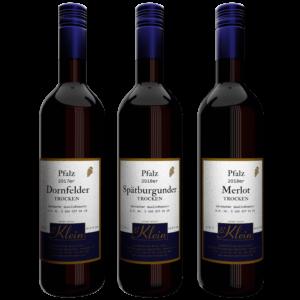 Trockener Rotwein