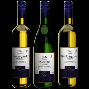 Trockener Weißwein